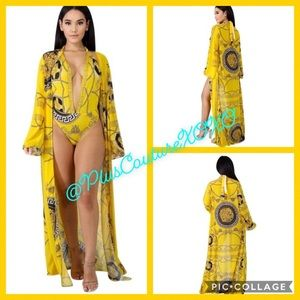 💛‼️SALE Swimsuit/ Cover-up Set